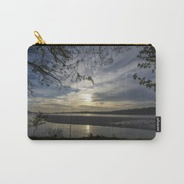 Sunset on a river Carry-All Pouch