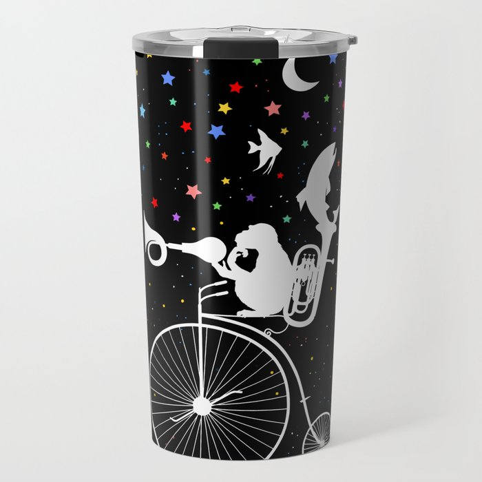 All the stars in the sky just for you. Life is Beautiful. Travel Mug