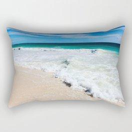 Tulum Waves Rectangular Pillow
