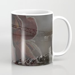 Summer/Winter Double Exposure Coffee Mug