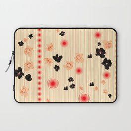 spotted blooms Laptop Sleeve
