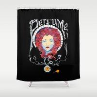 perfume Shower Curtains featuring Perfume by Paul Bridgeman