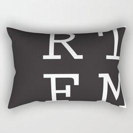 RTFM Rectangular Pillow