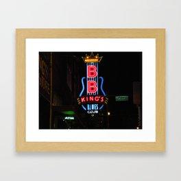 B.B. Kings Blues Club Framed Art Print
