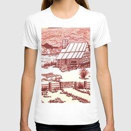 Mountain Cabin Rustic T-shirt
