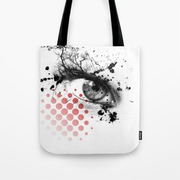 Trash polka Tote Bag