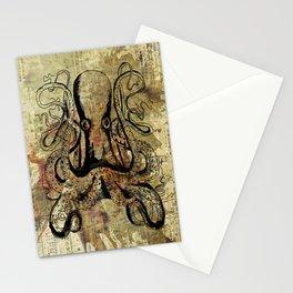 Ocean Spider Stationery Cards