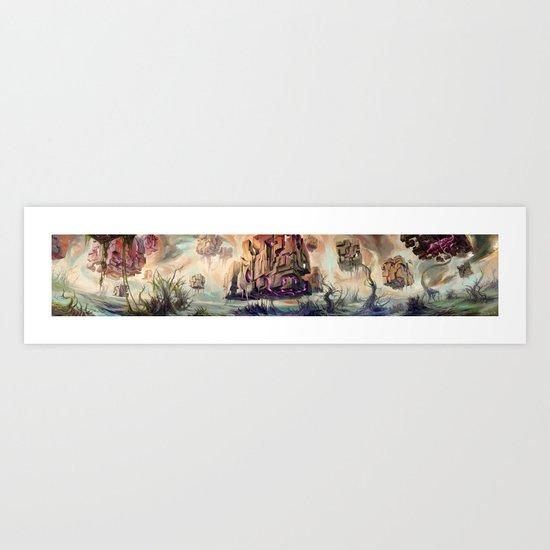 Eldrazi Swamp Art Print
