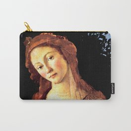 "Sandro Botticelli ""Primavera"" detail Carry-All Pouch"