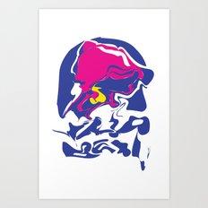 Taco Smudge Art Print