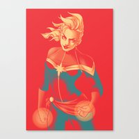 captain Canvas Prints featuring Captain by SandraG.N.