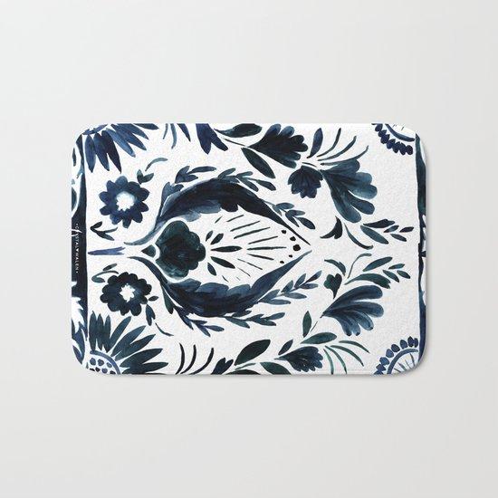 Nadia Flower Bath Mat