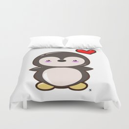 Penguin Kawaii Duvet Cover