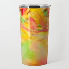 Tie-Dyed Flashback (Fireweed in Fall) Travel Mug
