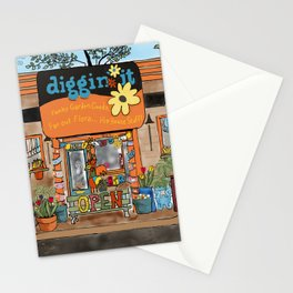 Diggin' it Mckinney, TX Stationery Cards