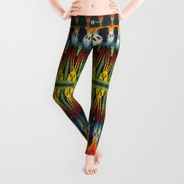 Bolitas de colores Leggings