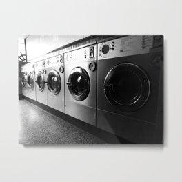 Whirly Wash 4 Metal Print