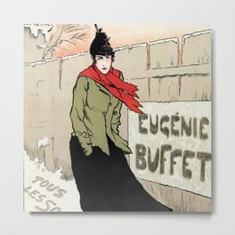 Eugénie Buffet winter Metal Print