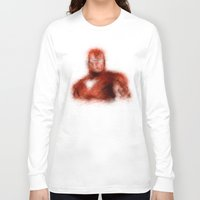 ironman Long Sleeve T-shirts featuring Ironman by KitschyPopShop
