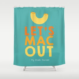 Let's Mac Out Shower Curtain
