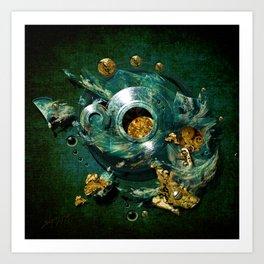 Moulds for gold Art Print