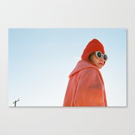 Desert Woman. Canvas Print