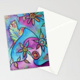 """Choose Happiness!   Original painting by Mimi Bondi Stationery Cards"