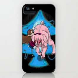 Dark Lies- Mabel and Waddles iPhone Case