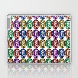 Une femme - plusieurs couleurs Laptop & iPad Skin