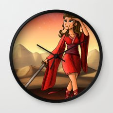 Mars Princess Wall Clock