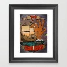 The Gnar Beast Framed Art Print