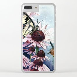 The little Snail Clear iPhone Case