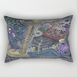 Purging Rectangular Pillow