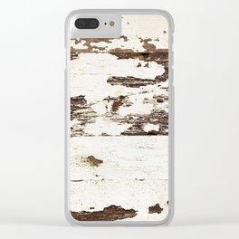 Worn Clear iPhone Case