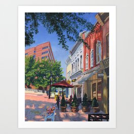 Joe, C-ville, VA Art Print