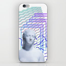 Vaporwave Greek iPhone Skin