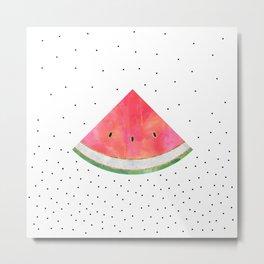 Pretty Watermelon Metal Print