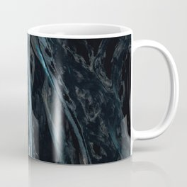 Abstract River in Iceland - Landscape Photography Coffee Mug