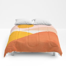 Abstraction_Mountains Comforters