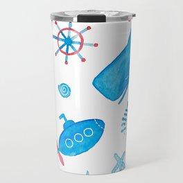 Marine design Travel Mug