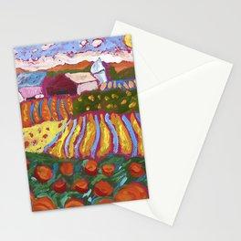 Iowa Barn Stationery Cards
