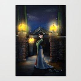 Ms Mansion Escape by Topher Adam 2017 Canvas Print
