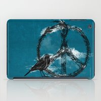 sewing iPad Cases featuring sewing birds by frederic levy-hadida