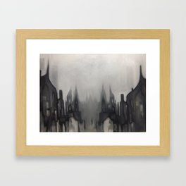 Lowry can you hear, we're still playing 'in the mood' up here Framed Art Print