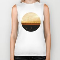 road Biker Tanks featuring road by gasponce