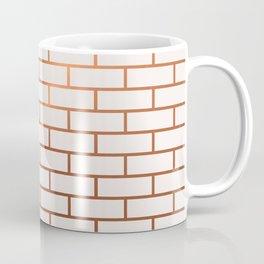 Copper Subway Tiles Coffee Mug