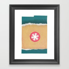 Winter Tales Framed Art Print