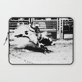 Bull Riding Champ Laptop Sleeve