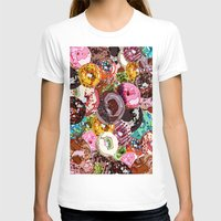 donuts T-shirts featuring Donuts by Tina Mooney