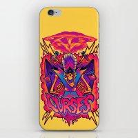 jojo iPhone & iPod Skins featuring MOJO JOJO: CURSES by BeastWreck